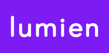 Lumien Logotype_White Purple